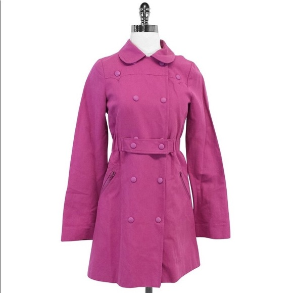 a819790d75 See Chloe Orchid linen cotton trench spring jacket